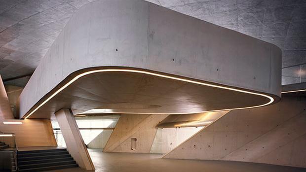 Inauguran una terminal marítima diseñada por la fallecida arquitecta Zaha Hadid