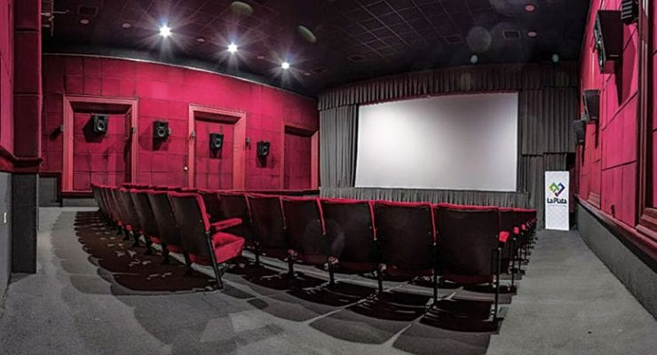 Primer cine solar de América latina en La Plata