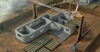 Impresora 3D portátil para construir casas