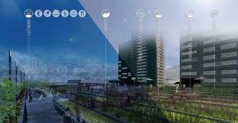 San Borja + Verde Ganador del primer concurso de ideas para transformar Pasarelas Verdes en Santiago de Chile