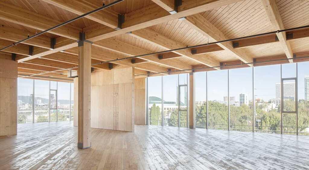 FRAMEWORK El edificio de madera más alto de Estados Unidos - AyC