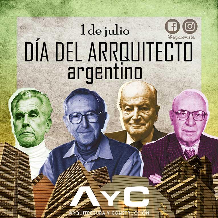 Fotomontaje de Valentín Ramos Felipe día del arquitecto