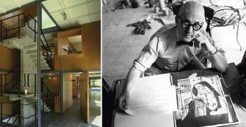 El último edificio diseñado por Le Corbusier