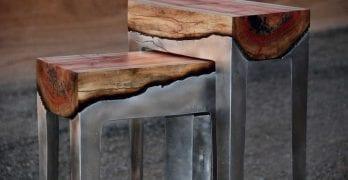 Novedosos diseños de mesas, Cuando el arte se vuelve funcional