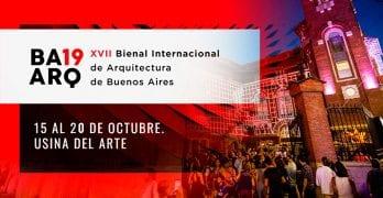 La XVII Bienal de Arquitectura de Buenos Aires / 15 al 20 de octubre