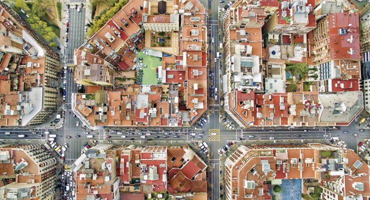 vista aérea ciudad