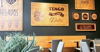 Diseño y ambientación para una heladería artesanal / TELLO