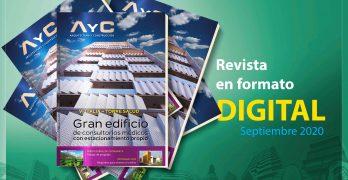 Revista digital AyC Septiembre 2020 + precios de la construcción