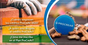 Requisitos para obtener el crédito ProCrear 2020