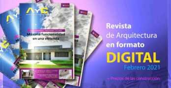 Ya salió nuestra Revista digital AyC Febrero 2021 + precios de la construcción