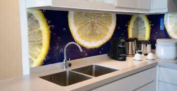 NUEVA TENDENCIA / Revestimientos decorativos de pared: vidrio con impresión digital HD