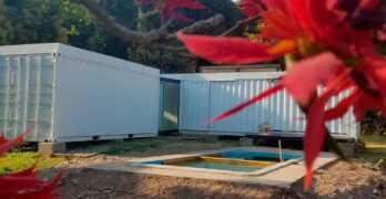 Casa Contenedor / Original vivienda para fin de semana