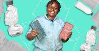NAIROBI – KENIA / Kenia recicla plástico para convertirlo en ladrillos