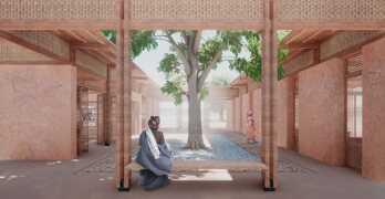 Casa de mujeres en África / Ganadores del concurso de arquitectura Kaira Looro 2021