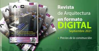 Ya salió nuestra Revista digital AyC Septiembre 2021 + precios de la construcción