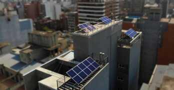 EDIFICIO LOOK /Autogeneración de electricidad y disminución de consumos