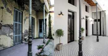 Restauración total, reforma y ampliación de una vivienda de 120 años de antigüedad / LA PLATA – BUENOS AIRES